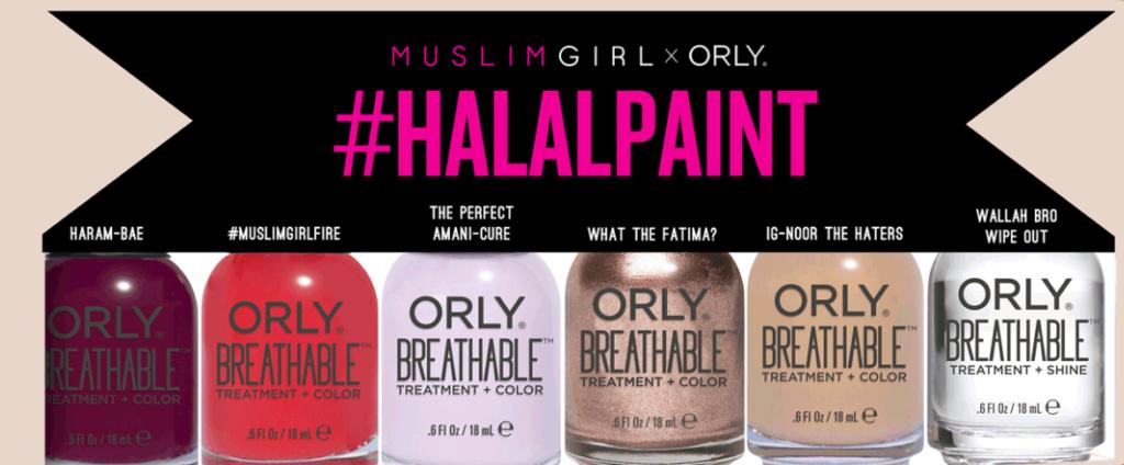 Muslim Girl x Orly Nail Polishes