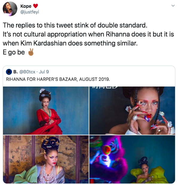 Cultural Appropriation Accusation